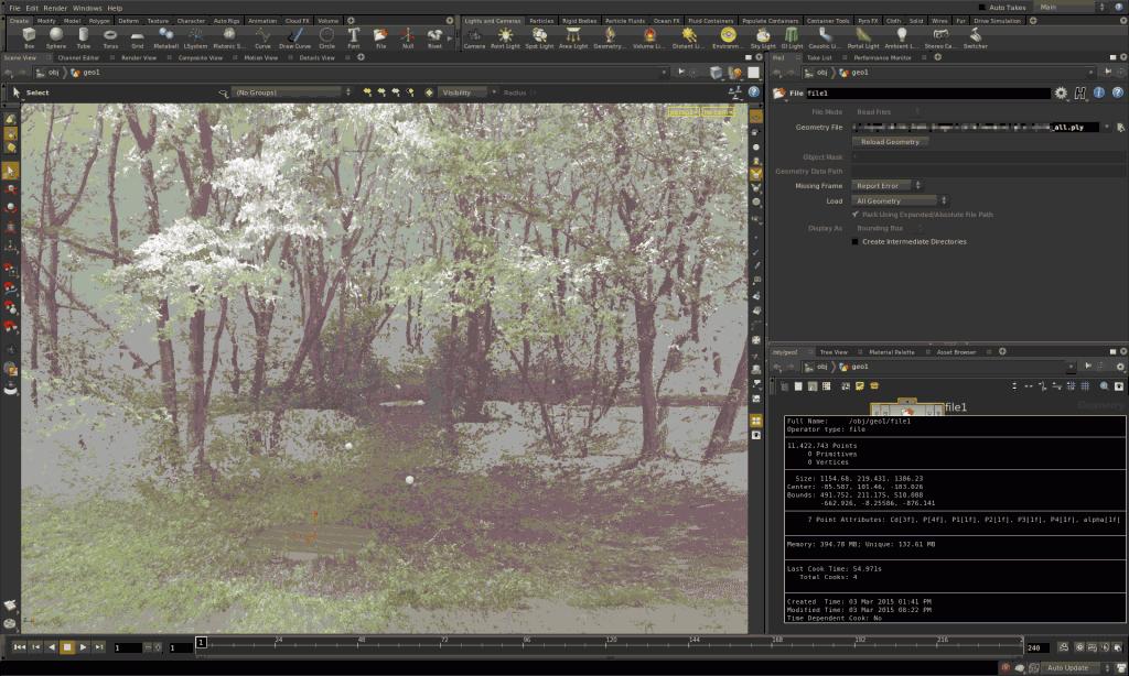 Reconstruct 3D environment~pointcloudのmesh化~