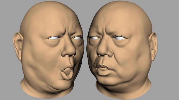 Facial Delta Mush